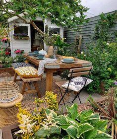 Beach Gardens, Outdoor Gardens, Outdoor Spaces, Outdoor Living, Outdoor Decor, Tiny Living, Living Spaces, Dyi, Décor Boho