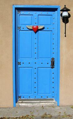 love door @ Santa Fe, New Mexico