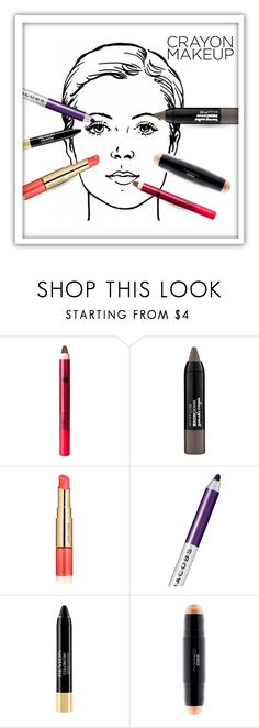 """Coloring Book"" by queenofsienna ❤ liked on Polyvore featuring beauty, Charlotte Russe, Maybelline, Estée Lauder, Marc Jacobs, Revlon and MAC Cosmetics"