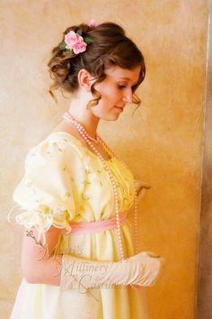 Jane+Austen+Regency+Dress | Regency Jane Austen Ball gown Empire formal Dress CUSTOM in... - Dress ...