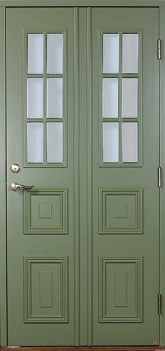 Ny ytterdörr. Annat handtag och vit?