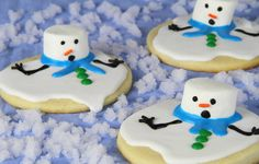 Christmas Is Coming. . . Make This Irresistible Melted Snowman Cookies!!! - See more at: http://www.afternoonrecipes.com/christmas-is-coming-make-this-irresistible-melted-snowman-cookies/#sthash.6qYRvHQE.dpuf