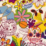 Alexander Henry Folklorico Calaveras Alegres Spice [AH-DE7810-BR] - $10.95 : Pink Chalk Fabrics is your online source for modern quilting cottons and sewing patterns., Cloth, Pattern + Tool for Modern Sewists