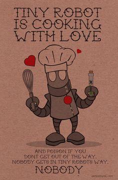 Happy Valentines from Tiny Robot! ...