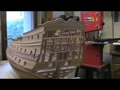 Historic ship model building Le Fleuron 1729-part I - YouTube