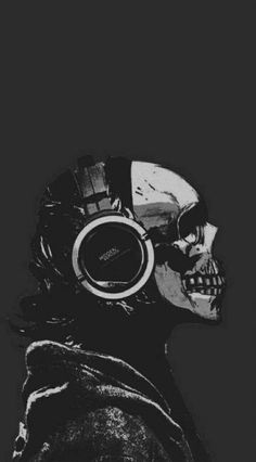New drawing wolf watches 20 ideas Music Wallpaper, Dark Wallpaper, Wallpaper Backgrounds, Skull Wallpaper Iphone, Phone Backgrounds, Mobile Wallpaper, Dope Wallpapers, Aesthetic Wallpapers, Skeleton Art
