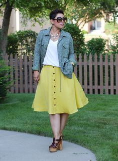 DIY Skirt + Pattern Review New Look #6346 - Mimi G Style