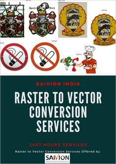 Affordable Raster to Vector Conversion Services. Hire a professional team of vector conversion services and get your logo or image vector conversion project within Image Editing, Photo Editing, Raster To Vector, Clipping Path Service, Image Vector, Photo Retouching, Conversation, India, Graphic Design