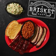 Brisket and ribs. Pure BBQ bliss. Try one of our new Signature Brisket Plates today.