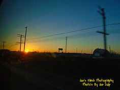 Sunset off west moira Street Belleville Ontario