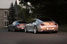 Dubsesd's TiAg M Coupe along with a Space Gray M Coupe.