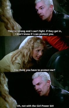 Buffy The Vampire Slayer. Buffy and Spike.