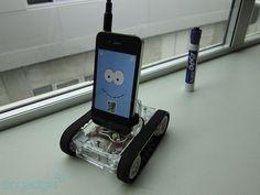 Romo, the smartphone robot (video)