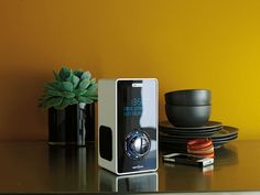 Exclusive to Argos, this Acoustic Solutions white DAB radio will fit perfectly into any stylish home.