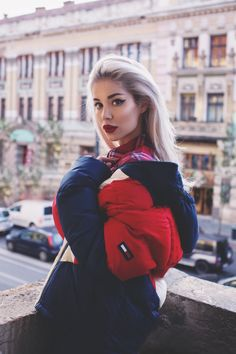 aa9a4348 Tommy Hilfiger, Most Beautiful, Beautiful Women, Outfit Combinations, Girls Be Like, Yves Saint Laurent, Crushes, Cool Outfits, Winter Jackets