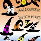 Have fun with these funky witch hats!  This zip file contains 10 funky and stylish witch hats. All are in 300 dpi png format and have a transparent...