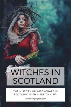 Witches in Scotland - The history of Witches in Scotland during the Great Scottish Witch Hunt. Visit sites to see in Scotland where witches were executed and memorial sites, Witchcraft sites are located all over Scotland. Step back in time and experience what life was like during the Great Scottish Witch Hunt. #witchcraft #scotland #history #orkney #edinburgh #northberwick, wanderingcrystal, #scottish #scotlandtravel #witch #witchcraft #schottland #escocia Scotland Vacation, Scotland Trip, Scotland Travel, Wicca, Magick, Places To Travel, Places To See, Witchcraft History, Inverness Scotland