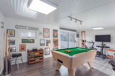 This man cave was planned to give our client added space to relax undisturbed. It was furnished beautifully and was a brilliant project to carry out! Man Cave Shed, Man Shed, Man Cave Room, Man Cave Garage, Man Cave Backyard Ideas, Backyard Sheds, Garage Game Rooms, Chill Out Room, Cave Pool