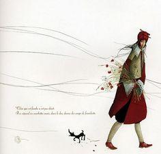 Rebecca Dautremer   ILLUSTRATION   Red Passion