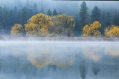 """Lake Autumn"" Photography, Various Sizes by artist Mike DeCesare. See his portfolio by visiting www.ArtsyShark.com"