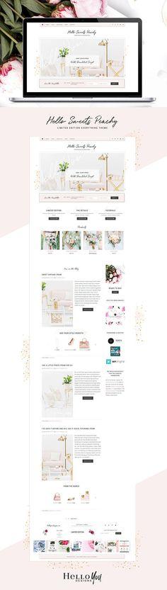 Wordpress Theme for Genesis Feminine Responsive