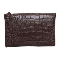 Crocodile Grain Women's Clutch Bag Leather Women Envelope Bag Clutch Evening Bags Woman 2017 Handbags Money Phone Bag carteiras