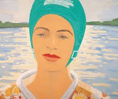 Alex Katz - born July is an American figurative artist associated with the Pop art movement. In particular, he is known for his paintings, sculptures, and prints and is represented by numerous galleries internationally. Art Pop, Quim Gutierrez, Georges Pompidou, L'art Du Portrait, Alex Katz, Pop Art Movement, Damien Hirst, Art Et Illustration, Illustrations