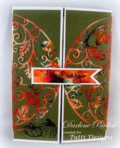Dar's Crafty Creations: Tutti Designs - Fall Birthday