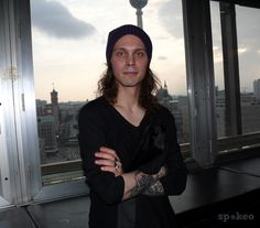"Ville Valo (HIM) Reception before the Madonna concert (""Sticky & Sweet Tour 2008"") at Weekend club"