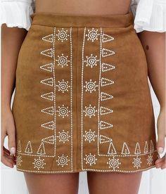 Black Khaki Empire Tube Suede Skirt Women Plus Size Fashion Mini Basic Skirts Saia