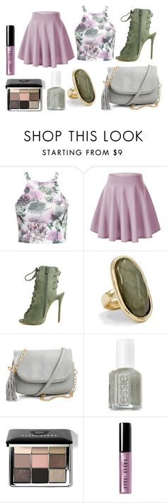 """summer"" by romi-kella on Polyvore featuring NLY Trend, Chico's, Essie, Bobbi Brown Cosmetics, women's clothing, women, female, woman, misses and juniors"