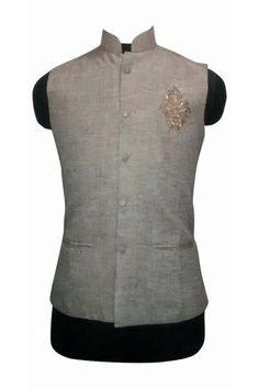 Nehru Jacket For Men, Waistcoat Men, Nehru Jackets, Business Casual Men, Men Casual, Stylish Waistcoats, Col Mandarin, Modi Jacket, Indian Groom Wear