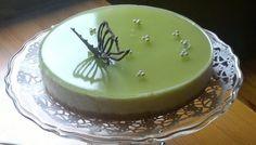 Limekakku (oma) cheesecake