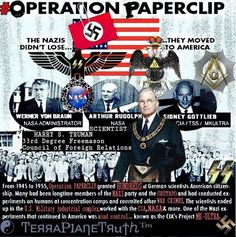 The Nazis helped to set up NASA in America Flat Earth Facts, Flat Earth Proof, Weird Facts, Fun Facts, Research Flat Earth, Illuminati Exposed, Nasa Lies, Conspiracy Theories, 911 Conspiracy