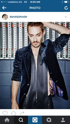 ARMED with a new look, sound and confidence, Daniel Johns has emerged from hiatus to steal the spotlight on the fashion stage, finds SARAH GRANT. Daniel Johns, Celebs, Celebrities, New Look, Dj, Leather Jacket, Cute, Fictional Characters, Sailors