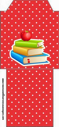 Dia dos Professores - Mini Kit com molduras para convites b93522d13c0