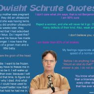 Dwight Schrute Quotes – The Office