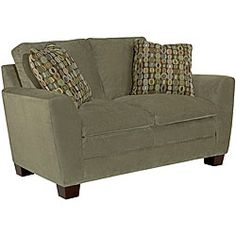@Overstock - Strike a modern note with the Corey Loveseat. Contemporary cushions offset the streamlined, crisply tailored back, slightly flared arms and open base.http://www.overstock.com/Home-Garden/Broyhill-Corey-Loveseat/6749181/product.html?CID=214117 $575.99
