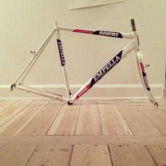 My 'cross-frame. Lovely!