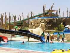 Escursione Aqua blu Sharm parco Acquatico Sharm El Sheikh - Aqua blu