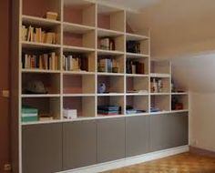 Custom Bookshelf Built By Adams Fine Furniture In Denver | Den Paint Colors  And Ideas | Pinterest | Custom Cabinetry, Photo Galleries And Office  Furniture