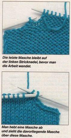 Schulterschrägungen | Tichiro - knits and cats