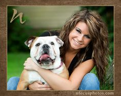 high school senior pictures with dogs - Google Search