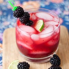 Blackberry Margaritas they sound sooo good.