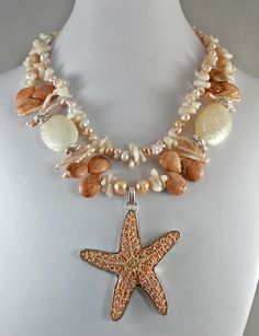 Beaches - Jewelry creation by Madalynne Homme