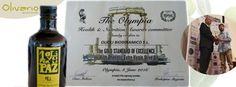 Eine besondere Auszeichnung für unser Olivenöl:  Oli OLI Biodinamico. Health & Nutrition Award.........
