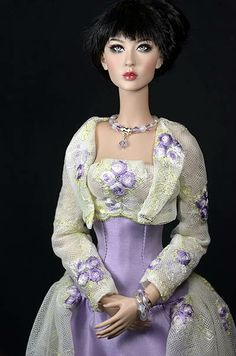 """Enchanted Evening"" OOAK for Modsdoll"