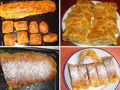 Jablečný závin z tvarohového těsta French Toast, Bread, Breakfast, Menu, Food, Morning Coffee, Menu Board Design, Brot, Essen