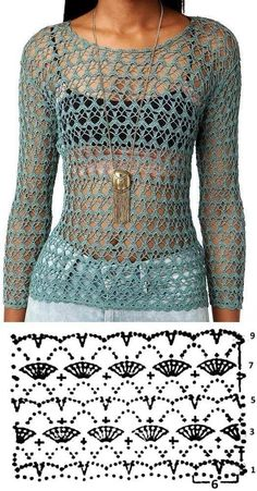 Crochet Tops 87676 Receive more than 3 thousand crochet and amigurumi recipes in your email. Tap the image to learn Diy Crochet Cardigan, Crochet Shrug Pattern, Crochet Stitches, Crochet Sweaters, Pull Crochet, Mode Crochet, Crochet Lace, Crochet Tops, Crochet Woman