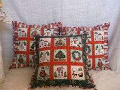 bavlnený návlek na vankúš, téma vianoce...